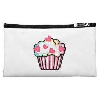 Cupcake Love Cosmetic Bags
