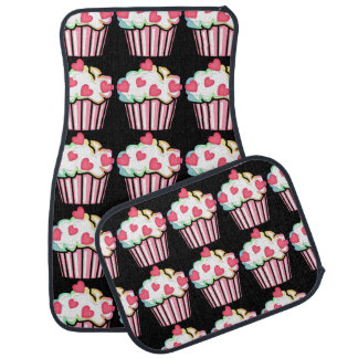 Cupcake Love Car Mat