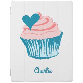 Cupcake Love custom name device covers iPad Cover