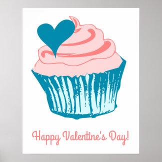 Cupcake Love custom text poster