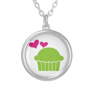 Cupcake Love Necklace