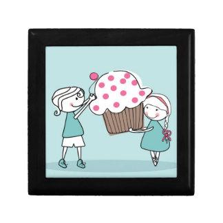 Cupcake Love Small Square Gift Box