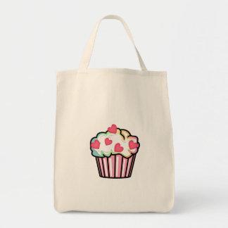 Cupcake Love Grocery Tote Bag
