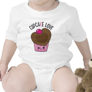Cupcake Love Rompers