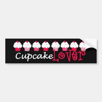 """Cupcake Lover"" Bumper Sticker"