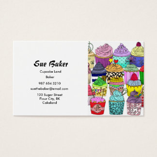 Cupcake Lover Business Card