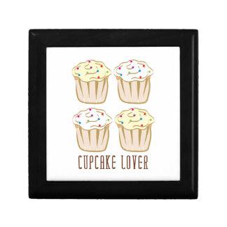 Cupcake Lover Keepsake Box