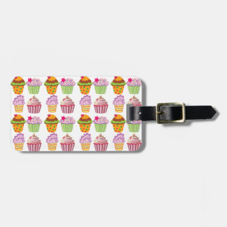 Cupcake Luggage Tag