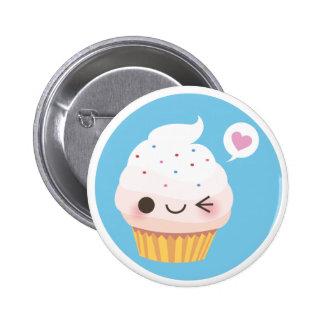 Cupcake Mania! Vanilla 6 Cm Round Badge