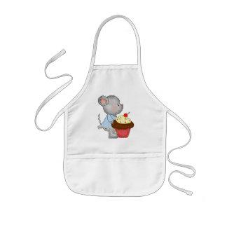 Cupcake Mouse apron