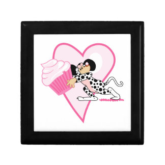 Cupcake Mouse (Dalmation Suit) Small Square Gift Box