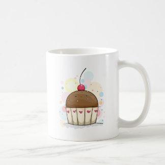 Cupcake Basic White Mug