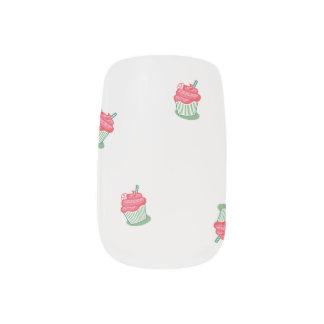 Cupcake Nails Nail Stickers