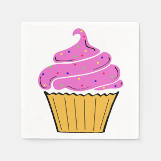 Cupcake Napkin Disposable Napkins
