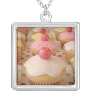 cupcake custom necklace