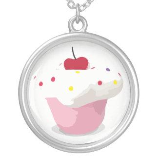 Cupcake Necklaces
