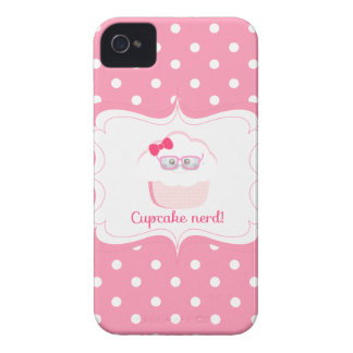 Cupcake Nerd iPhone 4 Covers
