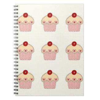 Cupcake Note Book