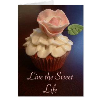 Cupcake Note Card