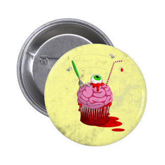 Cupcake Of The Dead Button