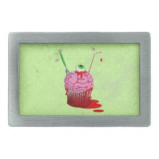 Cupcake Of The Dead Belt Buckle