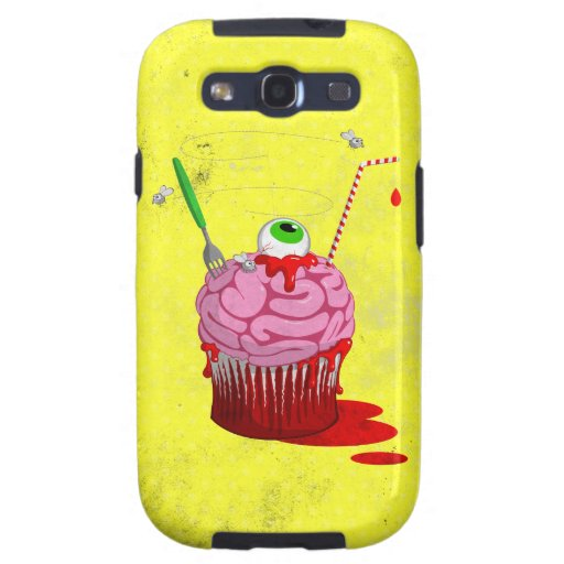 Cupcake Of The Dead Samsung Galaxy S3 Covers