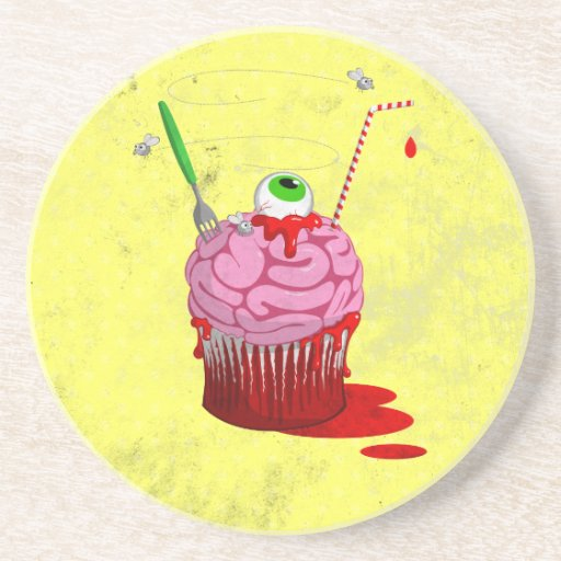 Cupcake Of The Dead Coaster