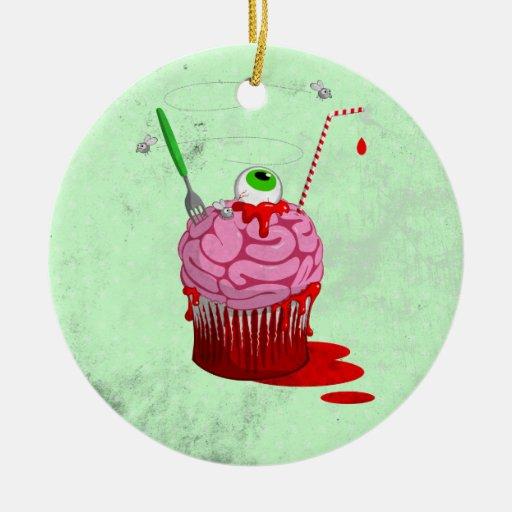 Cupcake Of The Dead Ornament