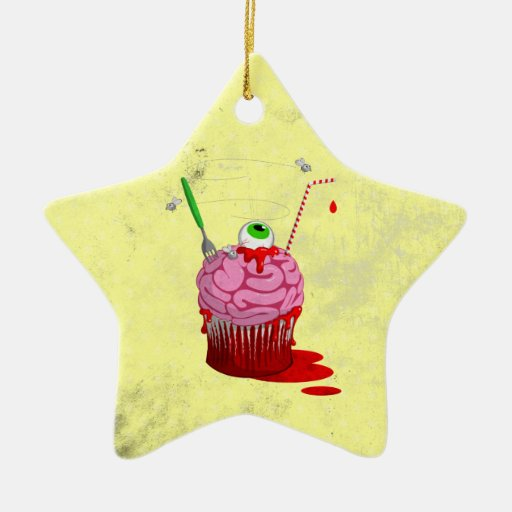 Cupcake Of The Dead Ornaments