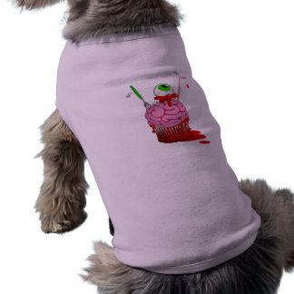 Cupcake Of The Dead Doggie T Shirt
