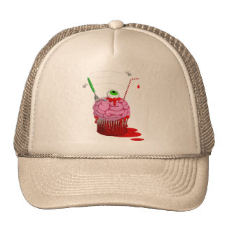 Cupcake Of The Dead Mesh Hat