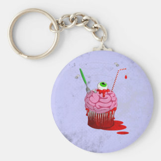 Cupcake Of The Dead Key Chain