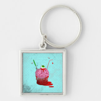 Cupcake Of The Dead Keychains
