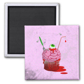 Cupcake Of The Dead Magnet