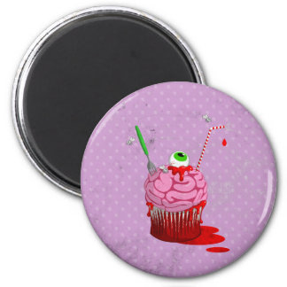 Cupcake Of The Dead Magnets