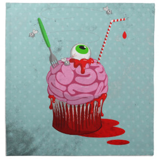 Cupcake Of The Dead Napkins