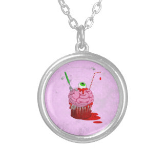 Cupcake Of The Dead Personalized Necklace