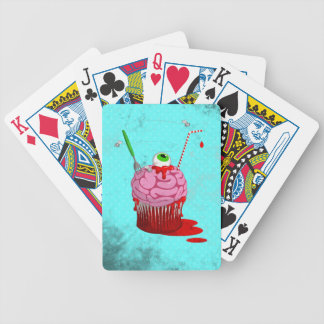 Cupcake Of The Dead Bicycle Poker Cards
