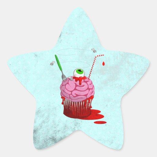 Cupcake Of The Dead Sticker