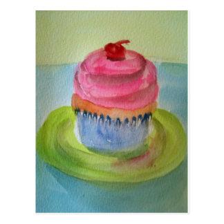 cupcake on plate.jpg postcards