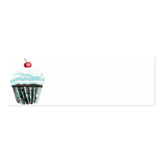 Cupcake Pack Of Skinny Business Cards