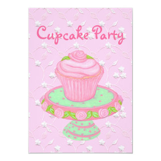 Cupcake Party Invitation Cards~Personalize!