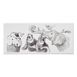 Cupcake Party Poster
