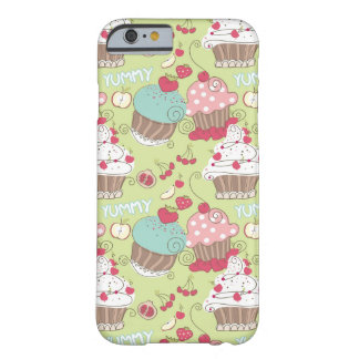 Cupcake pattern barely there iPhone 6 case