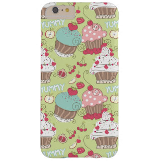 Cupcake pattern barely there iPhone 6 plus case