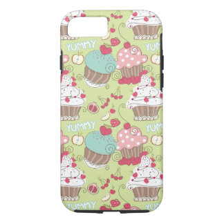 Cupcake pattern iPhone 8/7 case
