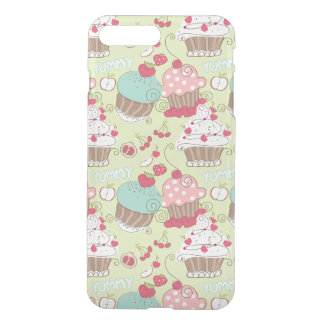 Cupcake pattern iPhone 8 plus/7 plus case