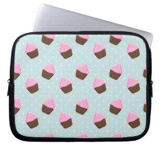 Cupcake Pattern Laptop Sleeve