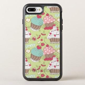 Cupcake pattern OtterBox symmetry iPhone 8 plus/7 plus case