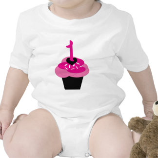 Cupcake Personalized Shirt First Birthday